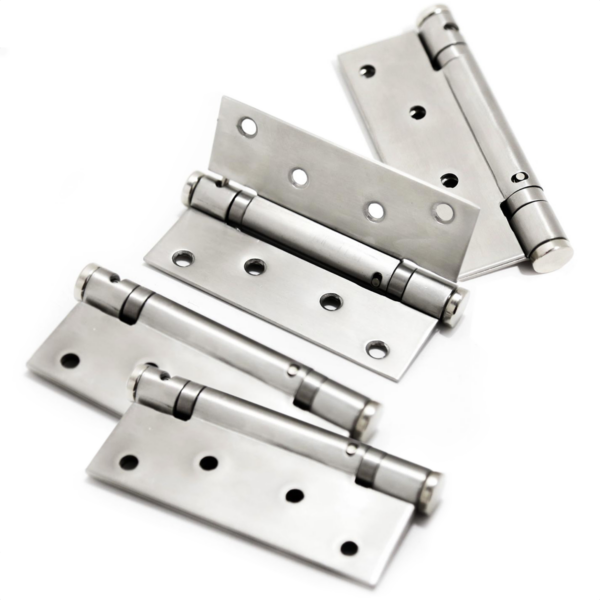 Dobradiça em Aço Inox 304 é ideal para fixação de portas internas de madeira ou metálicas